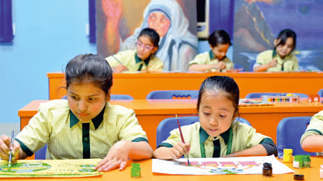 private school in ghaziabad-Smaller Class Size